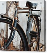 Old Bike II Acrylic Print by Robert Meanor