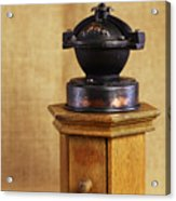 Old Coffee Grinder Acrylic Print by Falko Follert