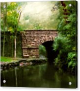 Old Country Bridge Acrylic Print by Jessica Jenney