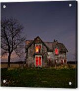 Old Farm House Acrylic Print by Cale Best
