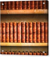 Old Library Acrylic Print by Tom Gowanlock