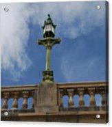 Old London Bridge - Az Acrylic Print by Carol  Eliassen