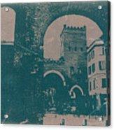 Old Milan Acrylic Print by Naxart Studio