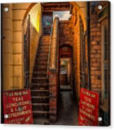 Old Signs Acrylic Print by Adrian Evans