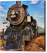 Old Train Acrylic Print by Garry Gay