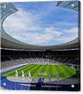 Olympic Stadium Berlin Acrylic Print by Juergen Weiss