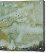 On Golden Pond Acrylic Print by Elizabeth Carr
