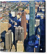 One Logan 1717 Arch Comcast Center Acrylic Print by Duncan Pearson