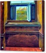 Open Window Acrylic Print by Michelle Calkins