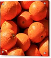 Oranges Acrylic Print by David Dunham