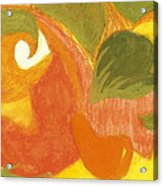 Organic Conversation Acrylic Print by Anne-Elizabeth Whiteway