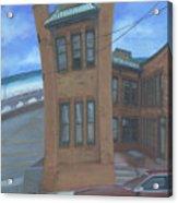 Oriental Avenue Acrylic Print by Suzn Smith