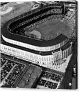 Over 70,000 Fans Jam Yankee Stadium Acrylic Print by Everett