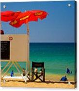 Palm Beach Dreaming Acrylic Print by Avalon Fine Art Photography