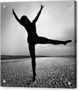 Pamela Dancing Acrylic Print by John Chilingworth