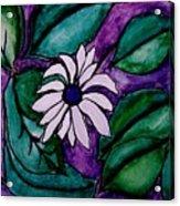 Paradise Flower Acrylic Print by Marsha Heiken