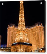 Paris Hotel Acrylic Print by Andy Smy