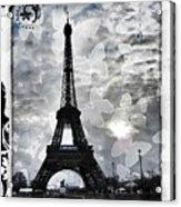 Paris Acrylic Print by Marianna Mills