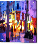 Paris Quartier Latin 02 Acrylic Print by Yuriy  Shevchuk