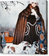 Parisian Style, 1921 Acrylic Print by Granger