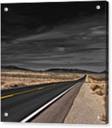 Pass With Care Acrylic Print by Atom Crawford