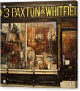 Paxton Whitfield .london Acrylic Print by Tomas Castano