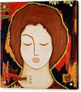 Peace Messenger Acrylic Print by Gloria Rothrock