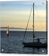 Peaceful Day In Santa Barbara Acrylic Print by Clayton Bruster