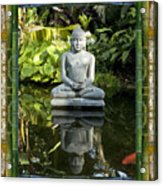 Peaceful Reflection Acrylic Print by Bell And Todd