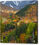 Peaked Acrylic Print by Mark Papke