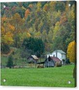Pennsylvania Farm Acrylic Print by Tony  Bazidlo