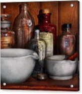 Pharmacist - Medicine For Coughing Acrylic Print by Mike Savad