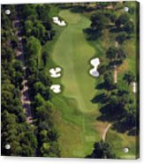 Philadelphia Cricket Club Militia Hill Golf Course 12th Hole Acrylic Print by Duncan Pearson