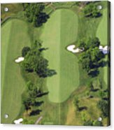 Philadelphia Cricket Club Militia Hill Golf Course 14th Hole Acrylic Print by Duncan Pearson