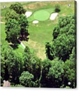 Philadelphia Cricket Club St Martins Golf Course 5th Hole 415 W Willow Grove Ave Phila Pa 19118 Acrylic Print by Duncan Pearson