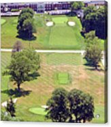 Philadelphia Cricket Club St Martins Golf Course 9th Hole 415 W Willow Grove Ave Phila Pa 19118 Acrylic Print by Duncan Pearson