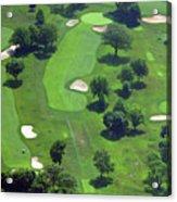 Philadelphia Cricket Club Wissahickon Golf Course 13th Hole Acrylic Print by Duncan Pearson