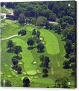 Philadelphia Cricket Club Wissahickon Golf Course 1st And 18th Holes Acrylic Print by Duncan Pearson