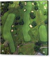 Philadelphia Cricket Club Wissahickon Golf Course 1st Hole Acrylic Print by Duncan Pearson
