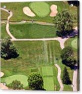 Philadelphia Cricket Club Wissahickon Golf Course 8th Hole Acrylic Print by Duncan Pearson