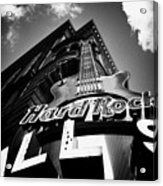 Philadelphia Hard Rock Cafe  Acrylic Print by Bill Cannon