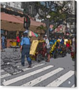 Philippines 906 Crosswalk Acrylic Print by Rolf Bertram