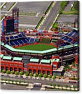 Phillies Citizens Bank Park Acrylic Print by Duncan Pearson