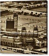 Phillies Stadium - Citizens Bank Park Acrylic Print by Bill Cannon