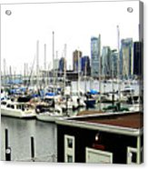 Picturesque Vancouver Harbor Acrylic Print by Will Borden