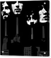 Pink Floyd No.02 Acrylic Print by Caio Caldas