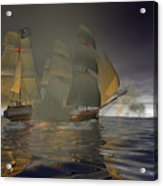 Pirate Attack Acrylic Print by Carol and Mike Werner