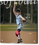 Pitcher Acrylic Print by Kelley King