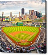 Pittsburgh Pirates  Acrylic Print by Emmanuel Panagiotakis