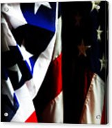 Pledge To The Usa Acrylic Print by Susie Weaver